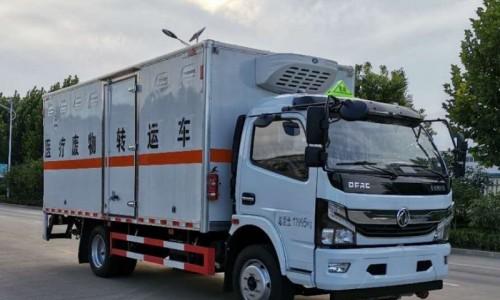 多利卡医疗废物转运车(国六)