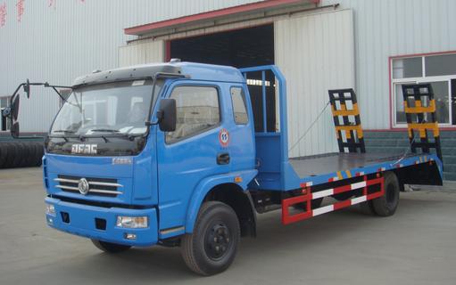10吨挖机东风多24直播网平板运输车