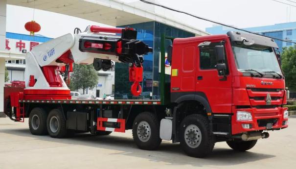 重汽豪沃20-150吨随车吊