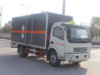 东风多利卡毒性和感染性物品厢式运输车(国五排放)