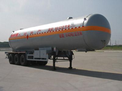 59.52立方液化气体运输半挂车