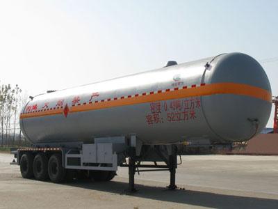 52立方丙烯液化气体运输半挂车