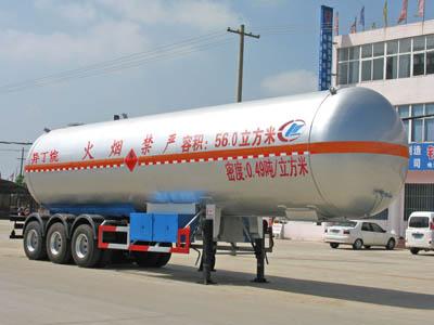 56立方异丁烷液化气体运输半挂车