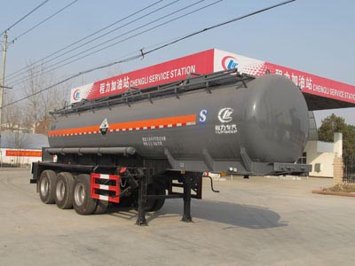 32.76吨硫酸运输半挂车