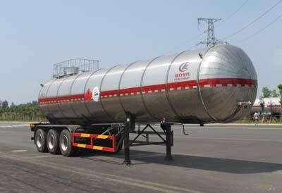 35方甲基氯液化气体运输半挂车