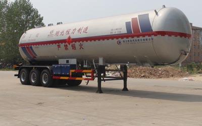 56方异丁烷液化气体运输半挂车