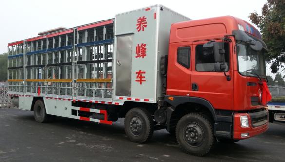东风小三轴养蜂车
