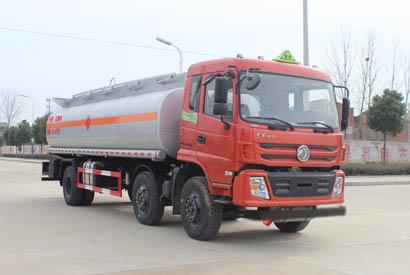 东风小三轴19.5立方易燃液体罐式运输车