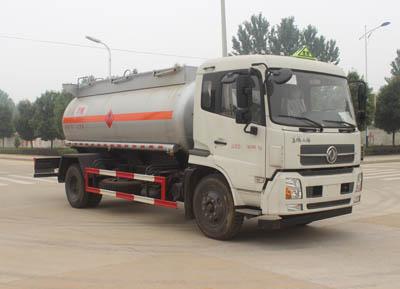 东风11立方甲醇易燃液体罐式运输车