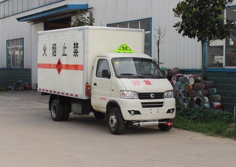 3.3米东风小型气瓶运输车