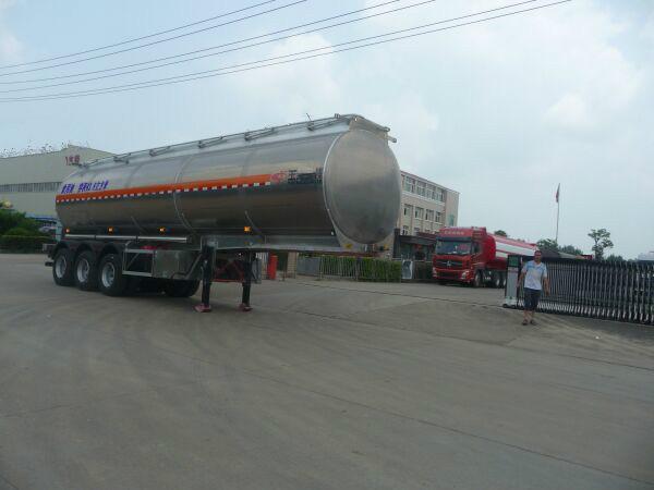 43.8方铝合金食用油运输半挂车