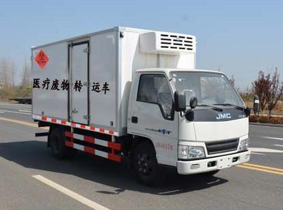 4.15米江铃医疗废物垃圾处理车