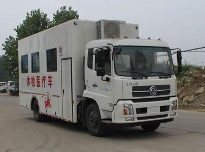 东风天锦体检医疗车