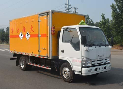 五十铃4.15米有毒和感染性物品运输车