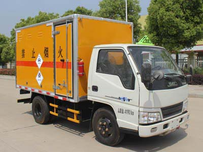 江铃3.16米毒性和感染性物品厢式运输车