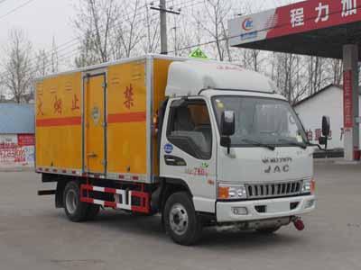 江淮4.12米爆破器材运输车