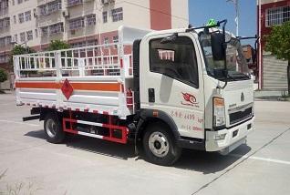 重汽豪沃4.1米气瓶运输车