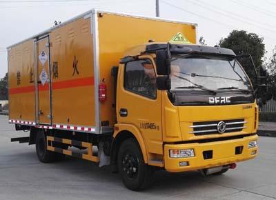 东风5.15米毒性和感染性物品厢式运输车