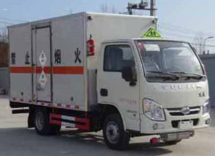 跃进3.4米毒性和感染性物品厢式运输车