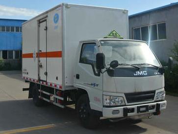江铃4.12米毒性和感染性物品厢式运输车
