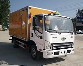 解放4.05米腐蚀物品运输车