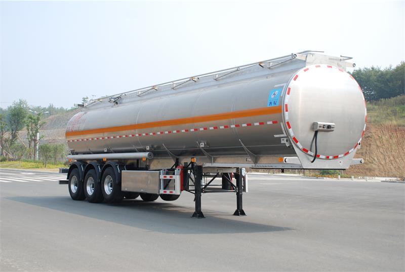 43方铝合金液态食品运输半挂车