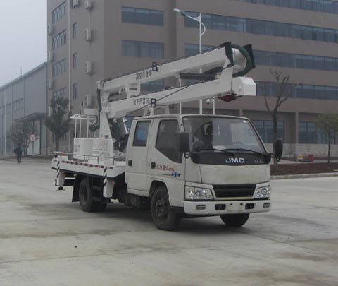 江铃凯锐14米高空作业车